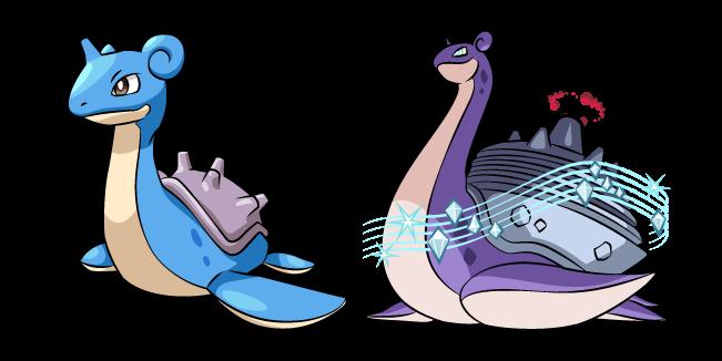 Pokemon Lapras and Gigantamax Lapras