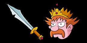 Disenchantment King Zog and Sword Cursor