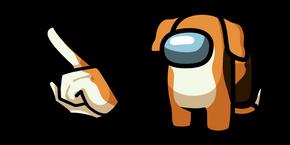 Курсор Among Us Dog Character