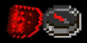 Курсор Minecraft Красная Пыль и Компас