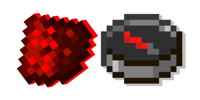 Minecraft Redstone Dust and Compass