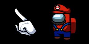 Among Us Super Mario Character Cursor