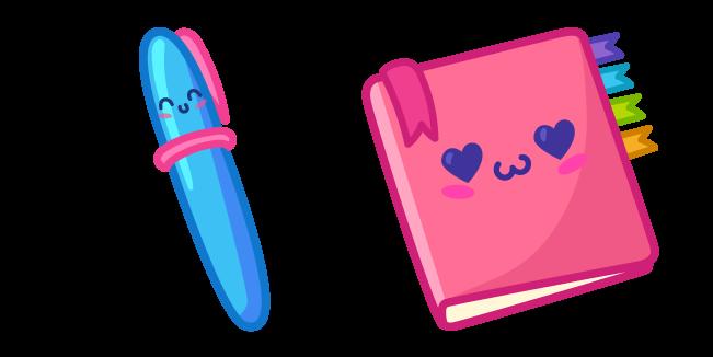 Милая Ручка и Блокнот