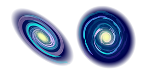 Milky Way Galaxy Cursor