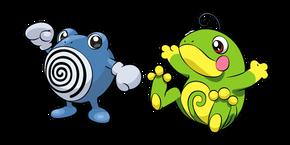 Pokemon Poliwhirl and Politoed Cursor