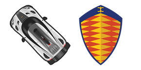 Курсор Koenigsegg One:1