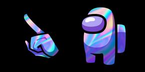 Among Us Hologram Character Cursor