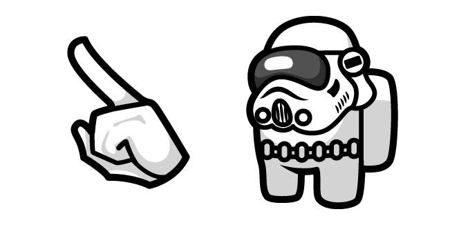 Among Us Stormtrooper Character