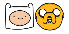 Adventure Time Finn and Jake Cursor