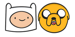 Adventure Time Finn and Jake Curseur