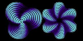 Курсор Закругленная Геометрическая Форма
