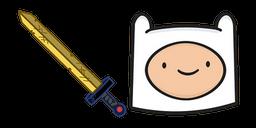 Adventure Time Finn Scarlet Sword Curseur