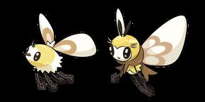 Pokemon Cutiefly and Ribombee Cursor