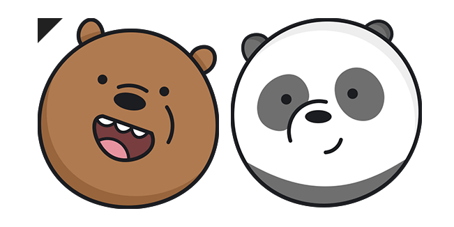 We Bare Bears Grizz and Panda
