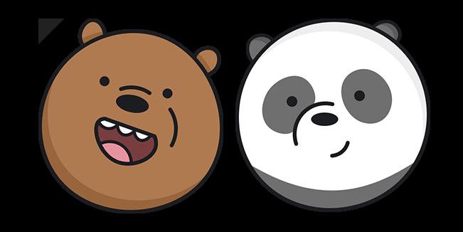 We Bare Bears Grizz and Panda