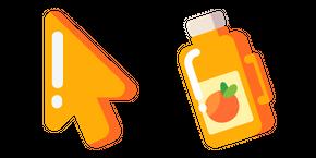 Minimal Orange Juice Curseur