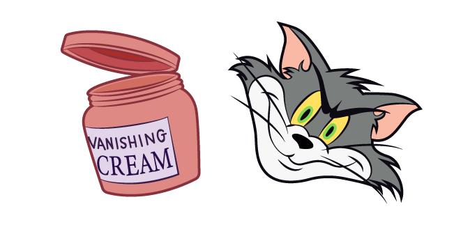 Invisible Tom with Vanishing Cream Meme