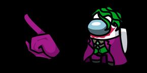 Among Us Joker Character Cursor