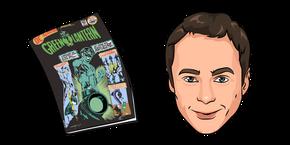 The Big Bang Theory Sheldon Cooper and Comic Cursor