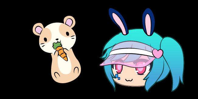 Gacha Life Lusa and Hamster
