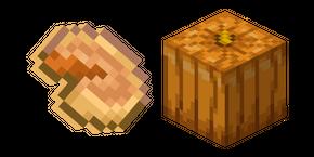 Minecraft Pumpkin and Pumpkin Pie Curseur