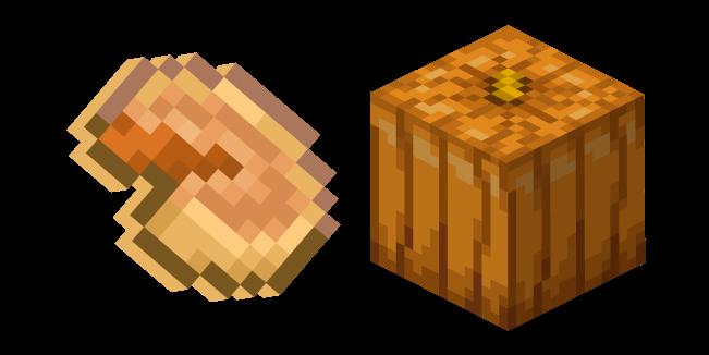 Minecraft Pumpkin and Pumpkin Pie