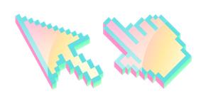 Курсор 3D Голографический Пиксель