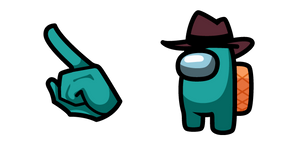 Among Us Perry the Platypus Character Cursor