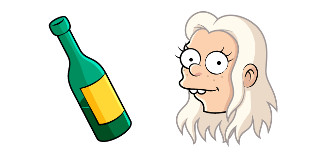 Disenchantment Queen Bean and Bottle