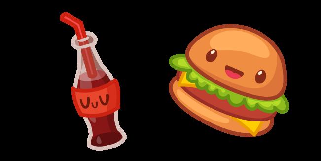 Милый Бургер и Кока-Кола