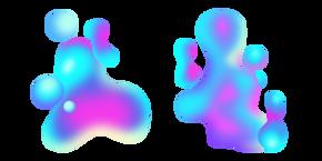 Курсор Голубо-Фиолетовая Жидкость