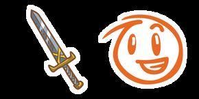 Draw a Stickman Alex and Sword Curseur