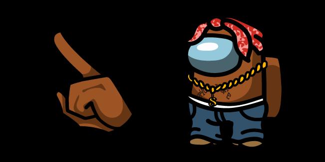 Among Us Tupac Shakur Character