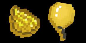 Minecraft Yellow Dye and Balloon Cursor
