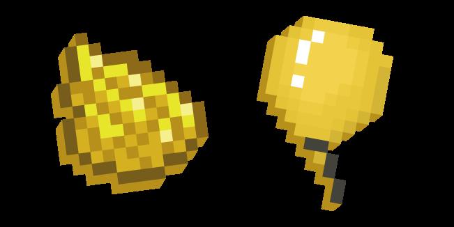 Minecraft Желтый Краситель и Воздушный Шар