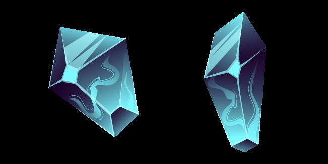 Blue Fluorite Crystal
