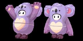 Курсор Fall Guys Caring Koala Costume
