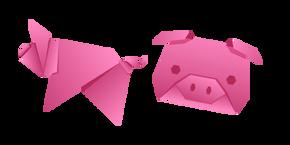 Origami Pig Cursor