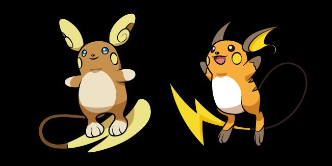 Pokemon Райчу и Алола Райчу