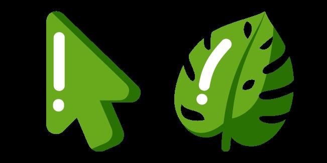 Minimal Monstera Leaf