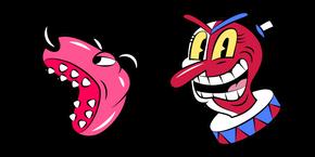 Cuphead Beppi The Clown Curseur