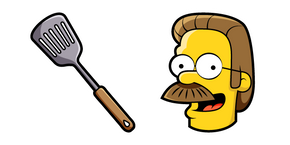 The Simpsons Ned Flanders Curseur