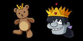 Disenchantment Prince Derek and Mr. Bear Cursor