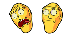 Rick and Morty Cromulon Cursor