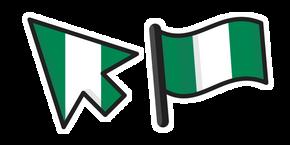 Курсор Флаг Нигерии