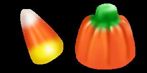 Candy Pumpkin Cursor