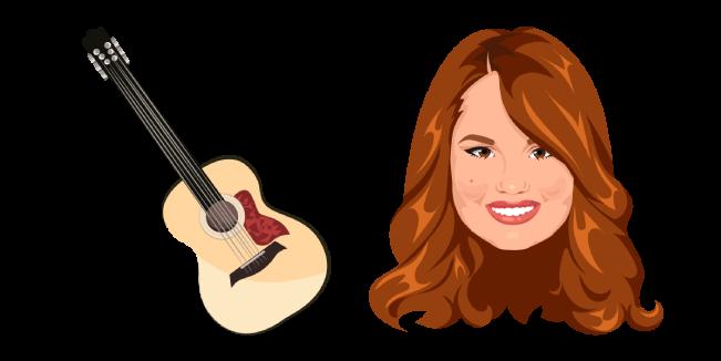 Jessie Prescott and Guitar