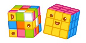 Cute Rubik's Cube Curseur