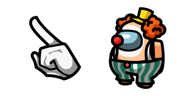 Among Us Clown Character