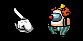 Among Us Clown Character Curseur